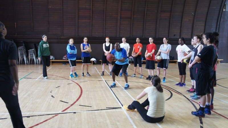 It's training time for M.B.S. Soul Basketball